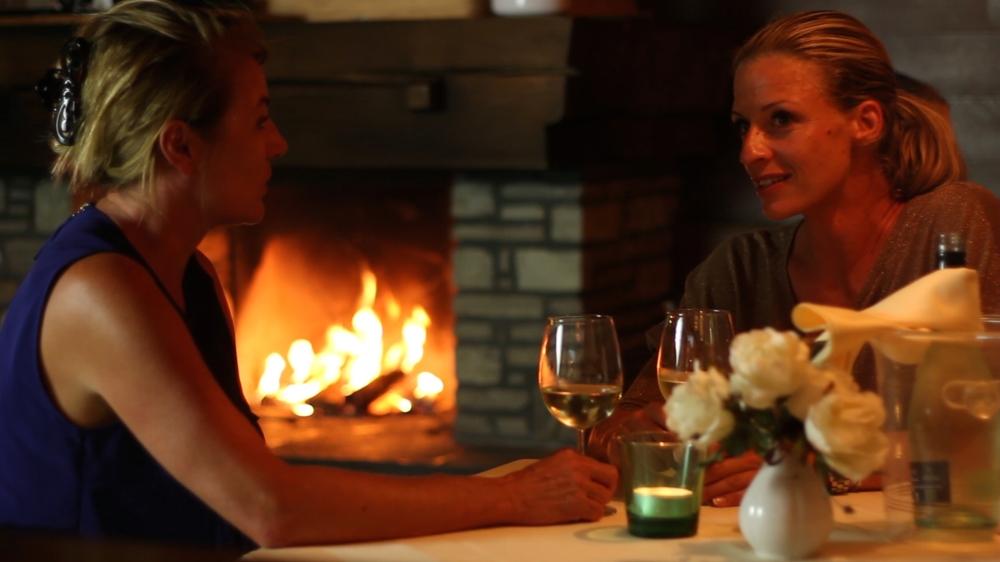 Open Chimney in the Restaurant