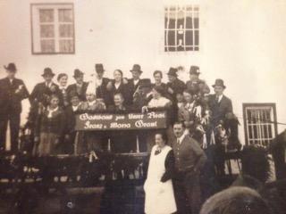 Eröffnung des Gasthauses 1937