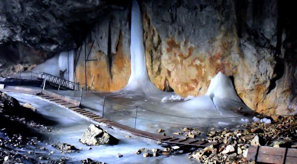 Grotta di ghiaccio Untersberg
